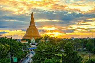 Nakhon Pathom - Phra Pathom Chedi
