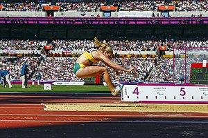 Katy Parrish - Parrish at the 2012 London Paralympics