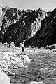 01367 Grand Canyon Historic - Fishing on Bright Angel Creek c. 1940 (4739562304).jpg