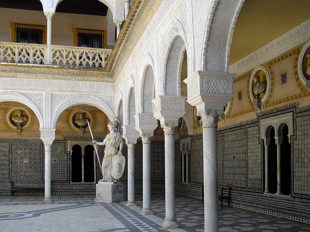Patio de la Casa de Pilatos