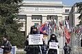 04 Protesters in Geneva demand the release of Armenian POWs, 15 April 2021.jpg