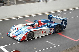 Oreca - An Audi R8 used by Oreca in 2005.