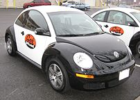 2006-2007 Volkswagen New Beetle photographed i...
