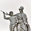 09030067 - detail of Athena teaches the young man how to use a weapon - Shievelbein, Herrmann - 1853.jpg