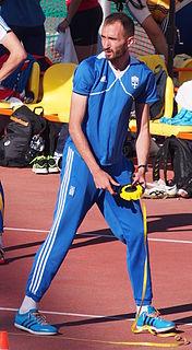 Konstadinos Baniotis Greek high jumper