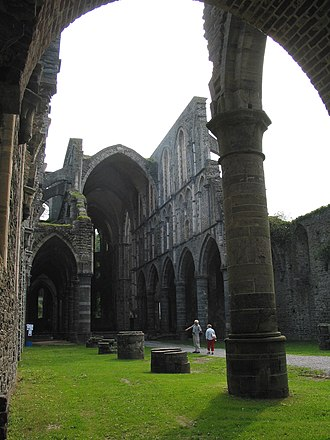 Villers Abbey - Villers Abbey church ruins
