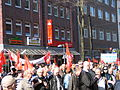 1. Mai 2013 in Hannover. Gute Arbeit. Sichere Rente. Soziales Europa. Umzug vom Freizeitheim Linden zum Klagesmarkt. Menschen und Aktivitäten (056).jpg