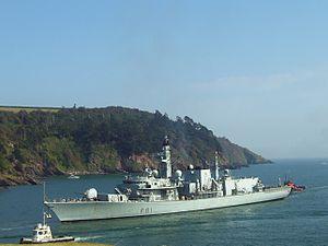 HMS Sutherland (F81) - Image: 100 0908