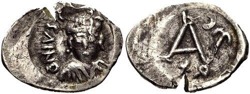 100 Nummi - Justin II - Carthage