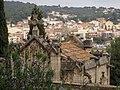 104 La Doma, panteó Fargas, al fons Sant Esteve de la Garriga.jpg