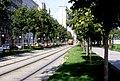 108R36240983 Strassenbahn, Franz Josefs Kai - Salztorgasse, Blick Richtung Schottenring, Sonderfahrt, Typ M 4151.jpg