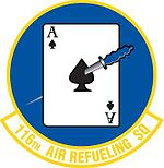116th Air Refueling Squadron emblem