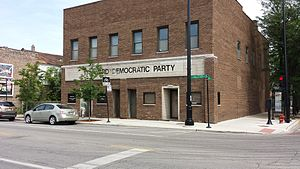 Richard J. Daley - 11th Ward Democratic committee office, Chicago