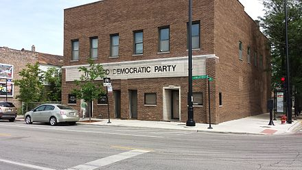 "11th Ward Democratic committee office, Bridgeport, Chicago. 11th Ward - ""Daley Machine"" HQ.jpg"