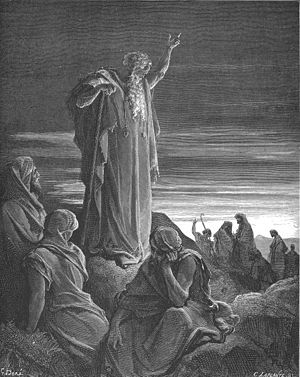 Dhul-Kifl - An engraving of Ezekiel, by Gustave Doré (c. 1866), who remains the most commonly identified figure with Dhul-Kifl.