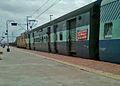 13351 Bokaro Express at Pithapuram railway station 02.jpg