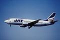 135cc - JAT Yugoslav Airlines Boeing 737-3H9; YU-ANF@ZRH;30.06.2001 (4793549814).jpg