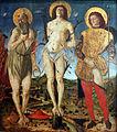 1478 dAncona Die heiligen Hieronymus, Sebastian und Rochus anagoria.JPG