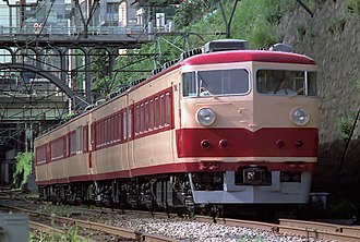157 series - A 157 series EMU on an imperial train working, June 1978