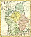 "1710 Homann Map of Denmark ""Iutiae"" - Geographicus - Iutiae-homann-1710.jpg"