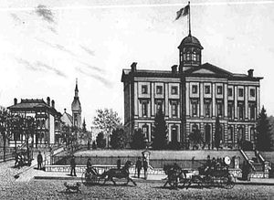 Portland, Oregon - Pioneer Courthouse, 1886