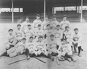 1899 St. Louis Perfectos season - The 1899 St. Louis Perfectos