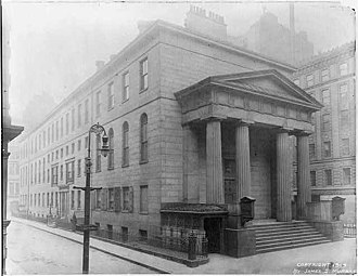 Boston Municipal Court - Image: 1909 courthouse Court Sq Boston by James Murray LC
