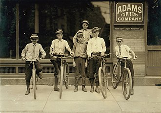 Adams Express Company - Child messengers, Norfolk, Virginia, 1911