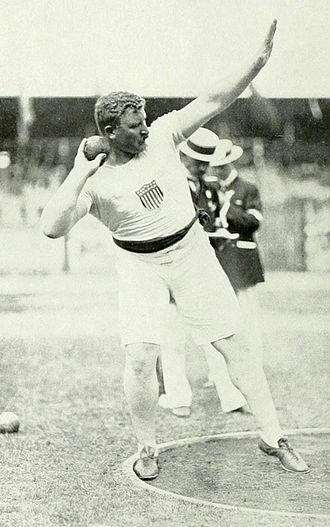 Pat McDonald (athlete) - McDonald in 1912