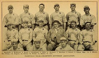 Nashville Vols - The 1916 Nashville Volunteers
