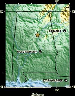 1916 Irondale earthquake Earthquake in Alabama on October 18, 1916