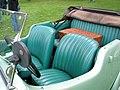 1939 Austin 8 tourer interior (5224168464).jpg