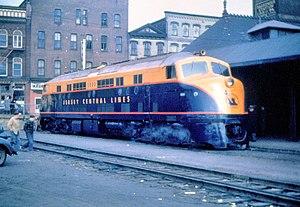 "Baldwin DR-6 - CNJ 2000; the first of six ""Janus"" DR-6-4-2000 locomotives"