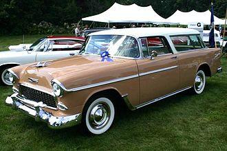 Chevrolet Nomad - Image: 1955 chevy nomad chevrolet archives