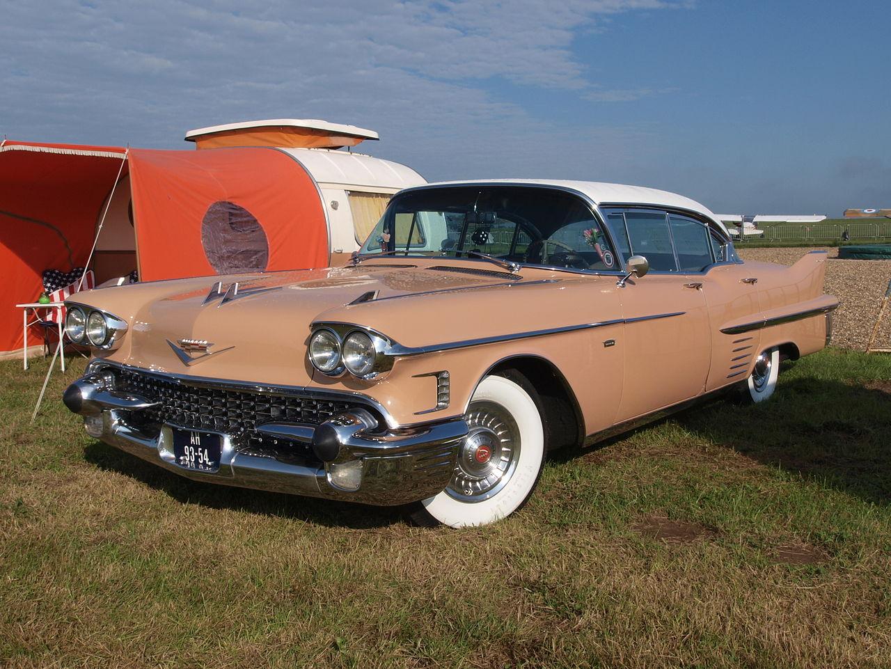 File 1958 Cadillac Sedan De Ville Jpg Wikimedia Commons