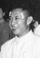 1964年6月,毛泽东在胡耀邦等陪同下接见出席共青团九大的代表。.png