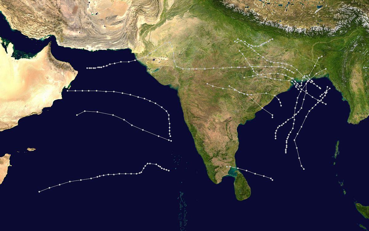 1970 North Indian Ocean cyclone season - Wikipedia