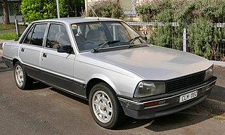 Peugeot 505 Motor vehicle