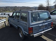 1988 Jeep Cherokee XJ Pioneer Olympic Edition In Municipal Fleet Service As Of 2015