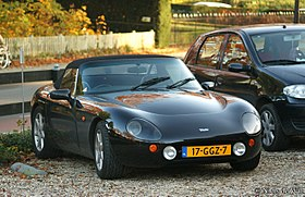 1999 TVR Griffith 500 (15859188212).jpg