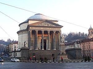 Gran Madre di Dio, Turin - Façade