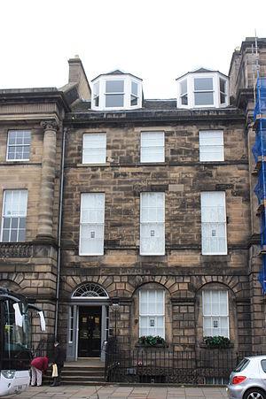 Thomas Grainger Stewart - Thomas Grainger Stewart's home at 19 Charlotte Square, Edinburgh