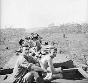 2/4th Machine Gun Battalion (Australia) - Soldiers from the 2/4th on a troop train