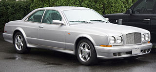 Bentley Continental R Grand tourer manufactured by British automobile manufacturer Bentley Motors from 1991 to 2003