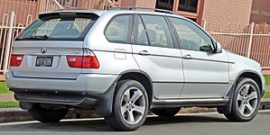 BMW X5 (E53) - Facelift BMW X5 3.0d (Australia)