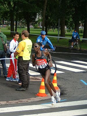 Beach to Beacon 10K - Catherine Ndereba has won the women's race on five occasions.