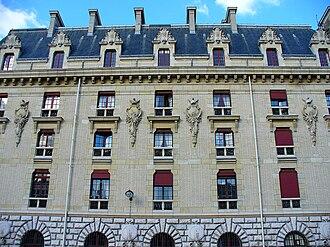 Bibliothèque de l'Arsenal - Architectural details