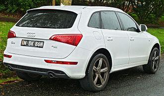 Audi Q5 - Audi Q5 2.0 TFSI quattro (Australia; pre-facelift)