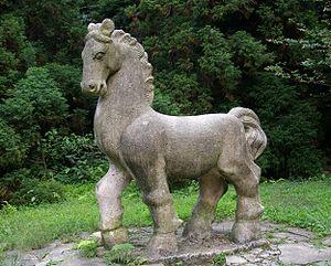 Horse (zodiac) - Image: 20090912 Moganshan 4871