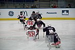 Ice sledge hockey game at the 2010 Winter Paralympics